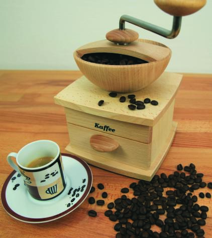 Kornkraft Mulino mit Kaffeemahlstein