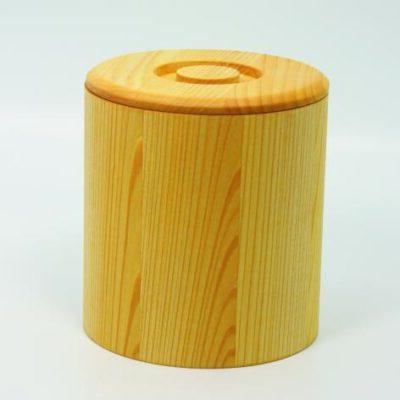 Holzdose aus Linde fŸr 1 kg