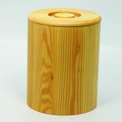 Holzdose aus Linde fŸr 1