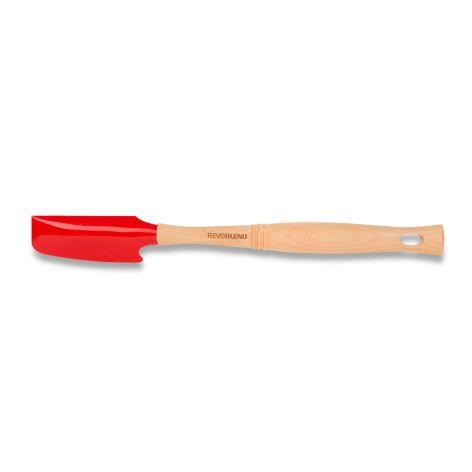 -Spatel rot mit Holzgriff - fŸr Revoblend