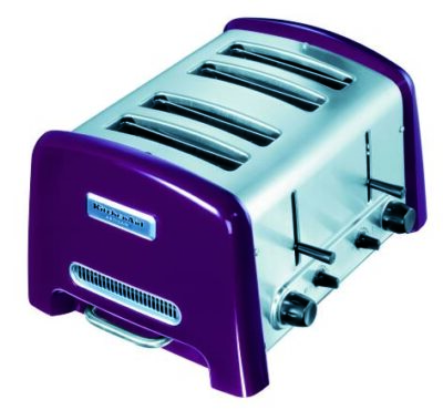KitchenAid 4-Scheiben-Toaster empire rot
