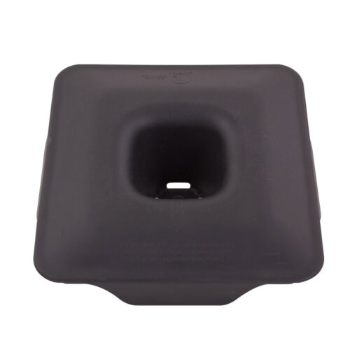 Commercial Black Cone Latching Lid 1