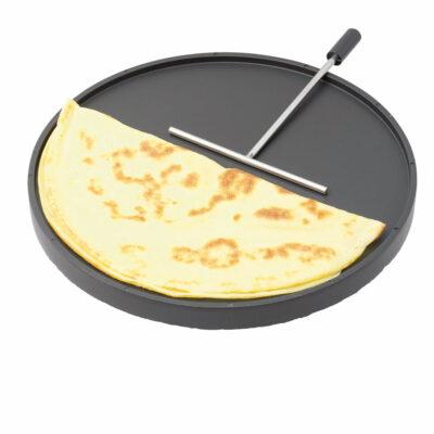 Grill-/Crêpeplatte für Maroni-Ofen