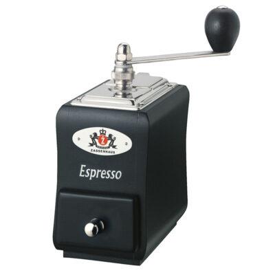 Zassenhaus Espressomühle Santiago schwarz