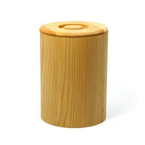 Holzdose aus Linde für 2 kg